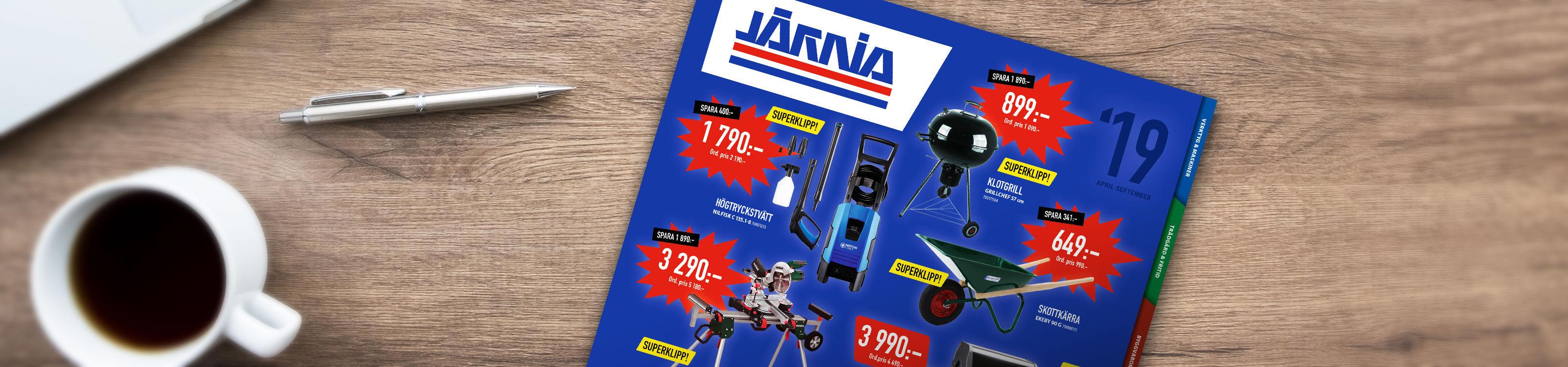 Bild på Järnia-katalog